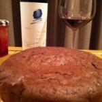 ガトー・ショコラにワイン