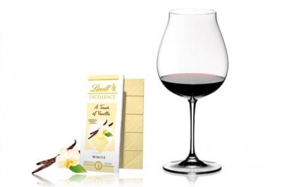 ホワイトチョコレートとピノ・ノワール