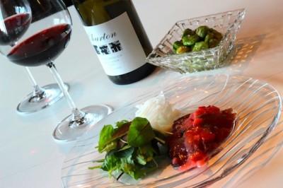 鰹とワイン