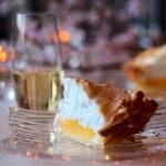 レモンパイとシャンパーニュ。甘酸っぱい、春のマリアージュ。