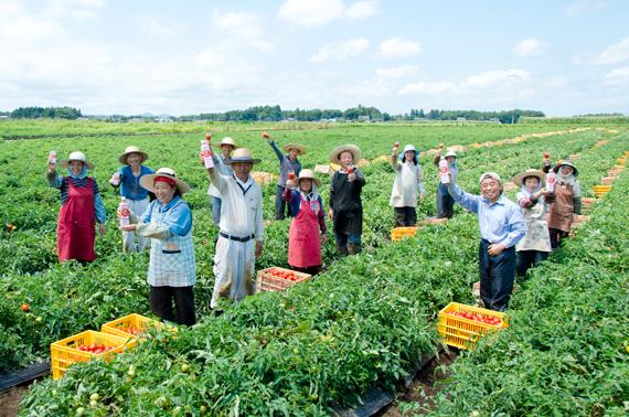 農家の方々