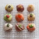 """ワインやシャンパンと相性抜群!ワインビネガーと赤米で""""手まり寿司"""""""