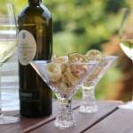 イタリアワインを代表する辛口白ワイン「ガヴィ」にはカラマリフリット