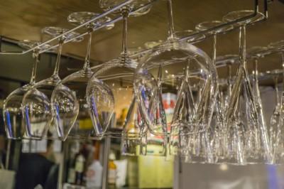 ワイングラスのお洒落な収納方法